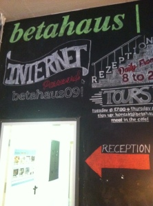 Betahaus Cafè in Berlin