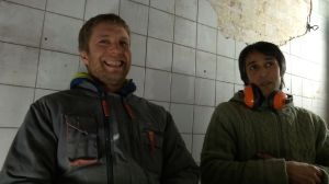Arnaud Nicholson and Vinny, BB team