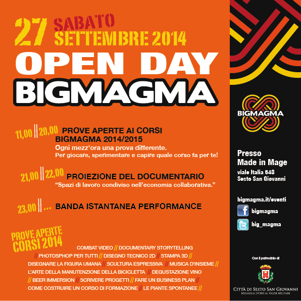 BIGMAGMA_Open Day